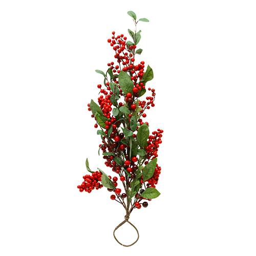 Deco Ramura Berries 75x20x13 Cm