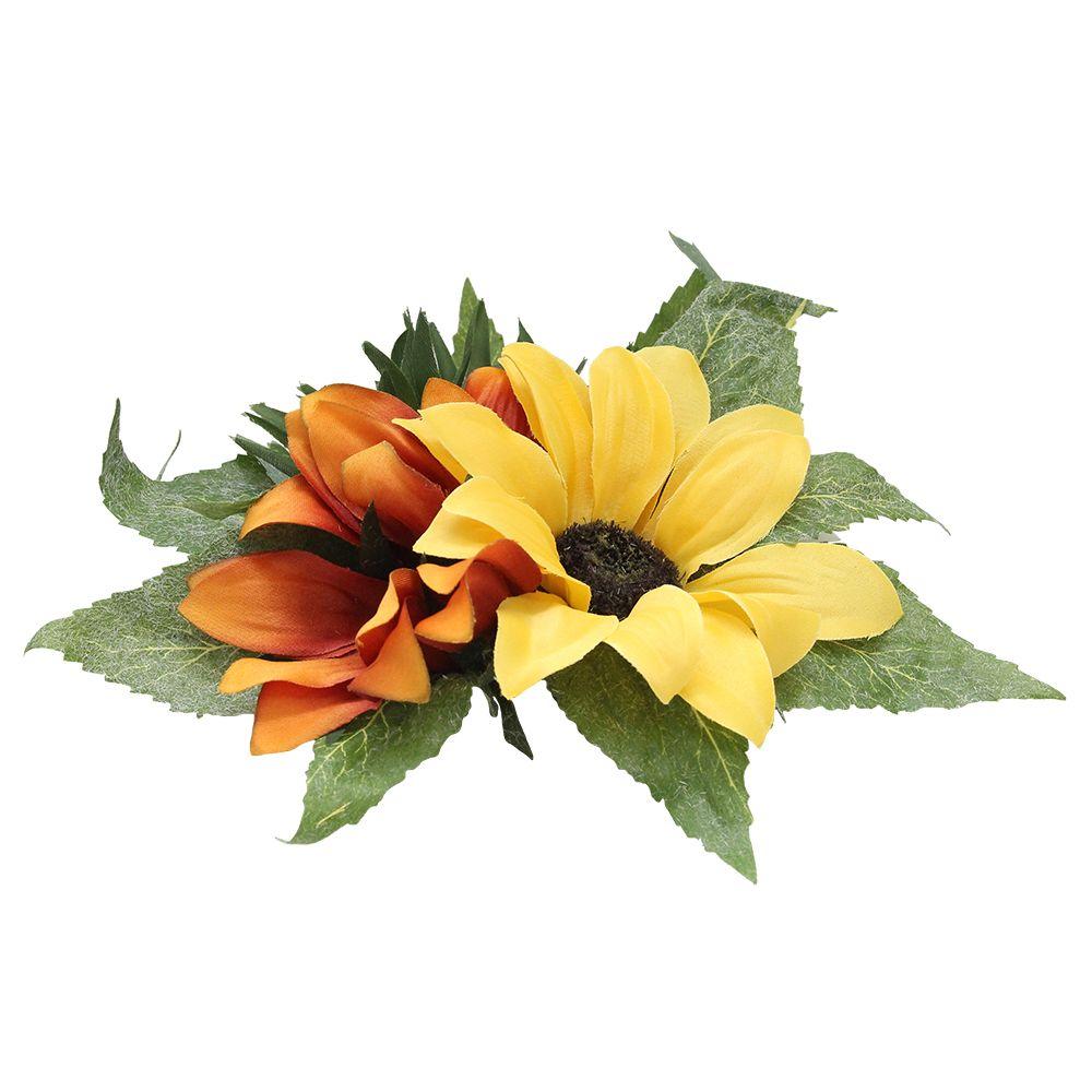 Decoratiune Flori Suport Lumanari 20 Cm