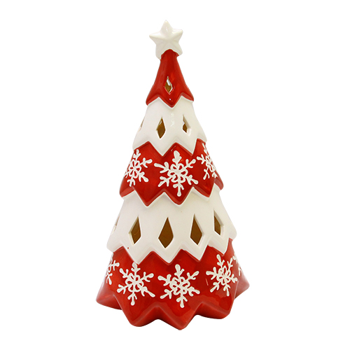 Decoratiune Lovely Christmas Din Ceramica 16x10x30
