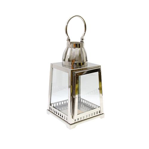 Felinar Modern Light Din Metal Si Sticla 18x18x42 Cm