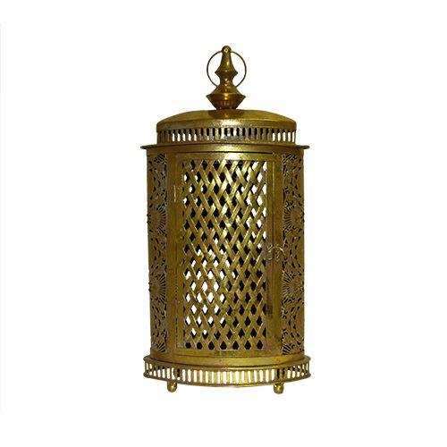 Felinar Oriental Magic Din Metal Auriu 44 Cm
