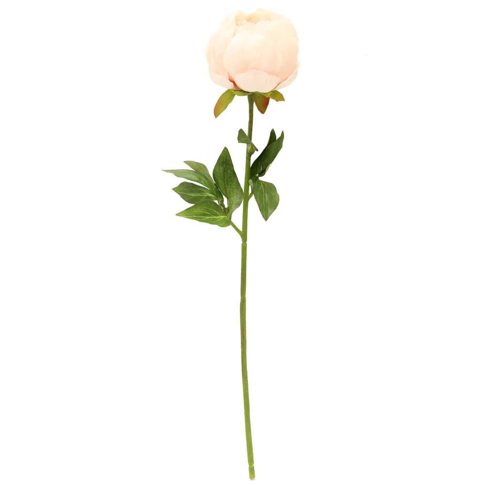 Floare Bujor Roz Pal 50 Cm