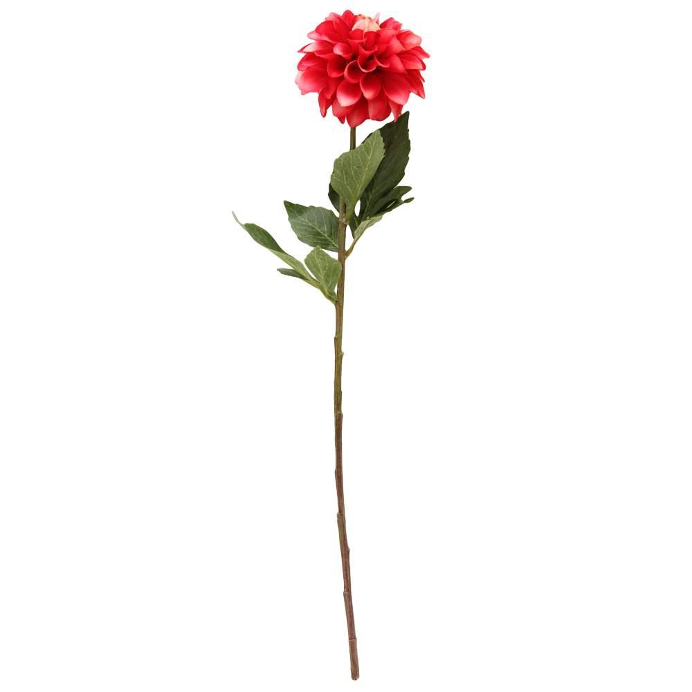 Floare Dalia Rosu 58 Cm