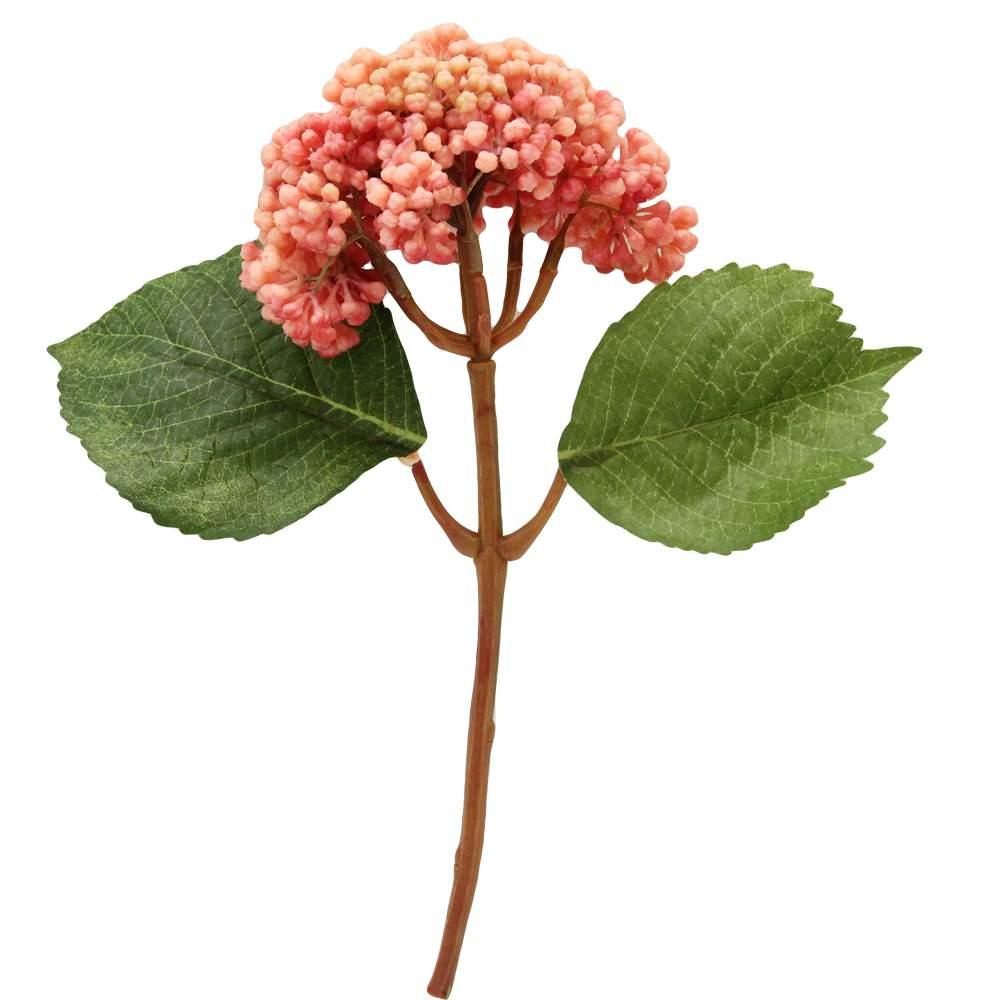 Floare Hortensia Roz 25 Cm