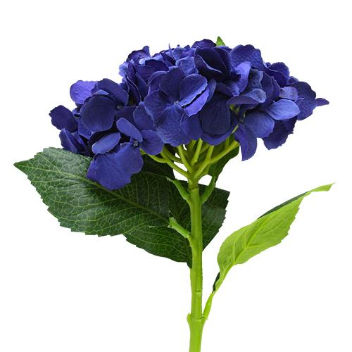 Floare Hortensie Albastra 55 Cm
