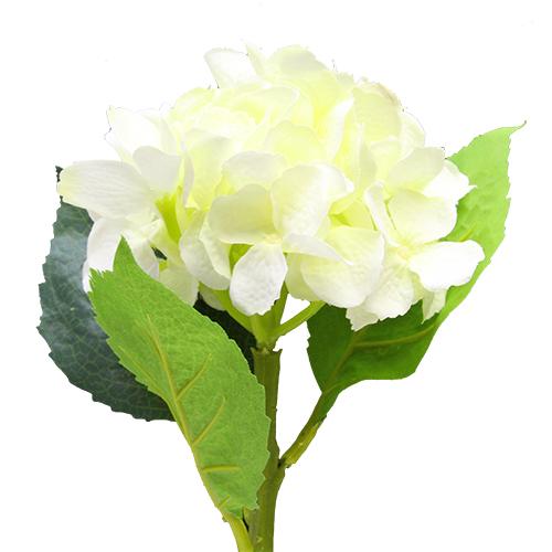 Floare Hortensie Crem 40 Cm