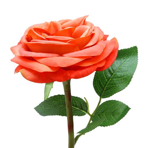Floare Trandafir Corai 30 Cm