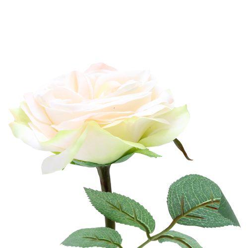 Floare Trandafir Crem 30 Cm