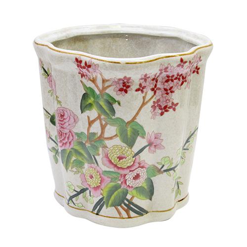 Ghiveci Molly Flower Din Ceramica 25x25 Cm