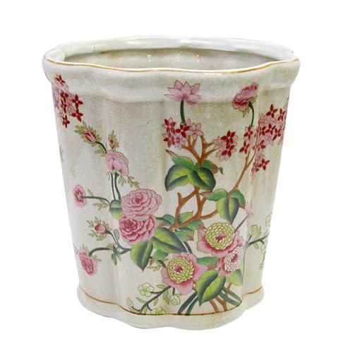 Ghiveci Sole Flower Din Ceramica 21x21 Cm
