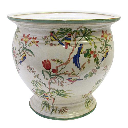 Ghiveci Sole Tropical Din Ceramica 36x32 Cm