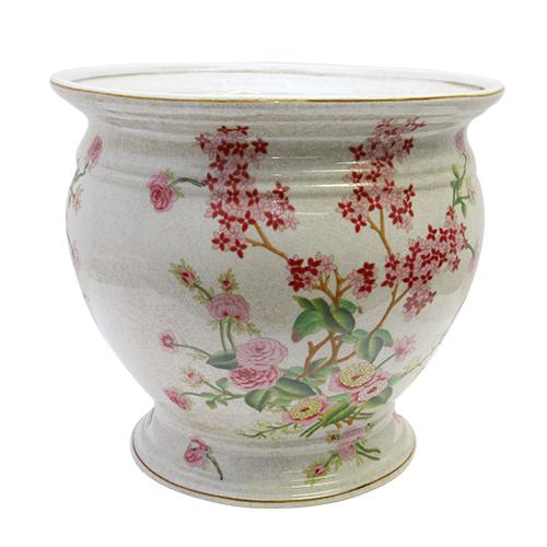 Ghiveci Tropical Flowers Din Ceramica 36x33 Cm
