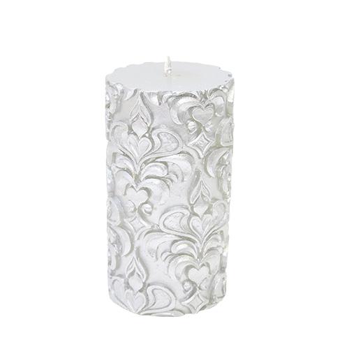 Lumanare Royal Silver 7.5x14 Cm