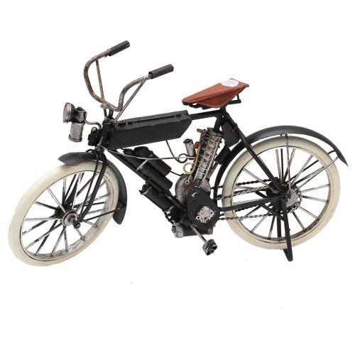 Macheta Bicicleta Din Metal Negru 30x6x8 Cm