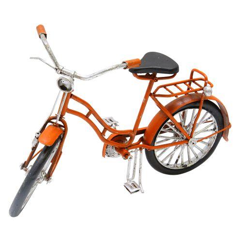 Macheta Bicicleta Din Metal Portocaliu