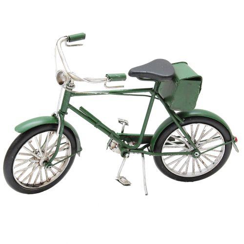 Macheta Bicicleta Din Metal Verde 22x5x13 Cm