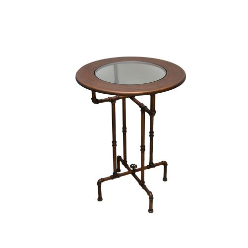 Masa Rotunda Copper Din Cupru 60 Cm