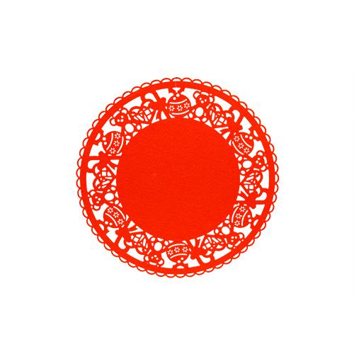 Napron Christmas Red 35 Cm