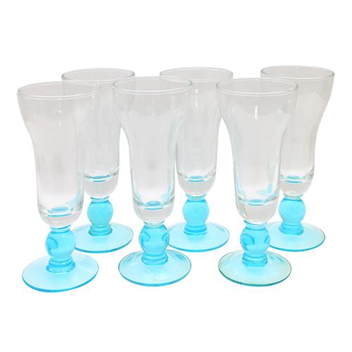 Pachet Cu 6 Cupe Din Sticla Azure