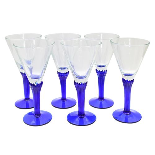 Pachet Cu 6 Cupe Din Sticla Bluelle
