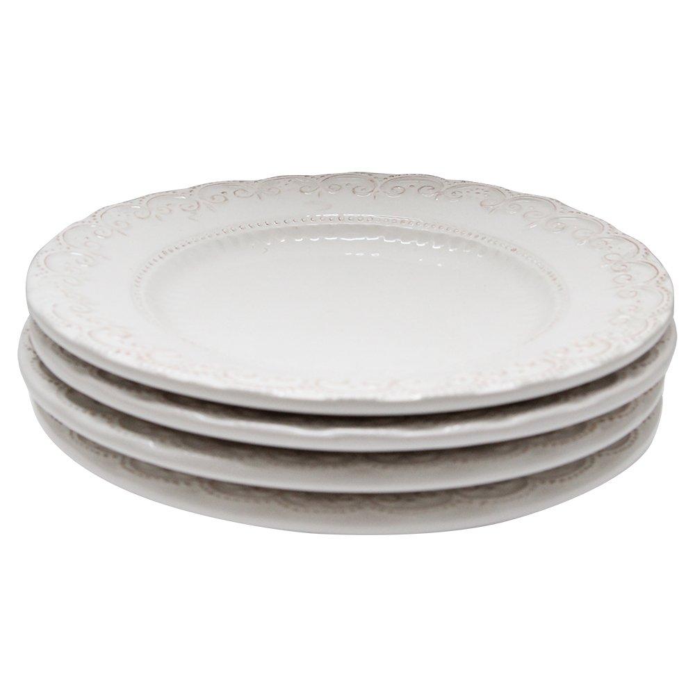 Pachet Duffy Cu 4 Farfurii De Desert Din Ceramica