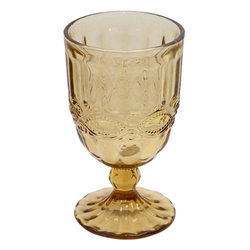 Pahar Fantasy Wine Din Sticla Maro 8x14 Cm
