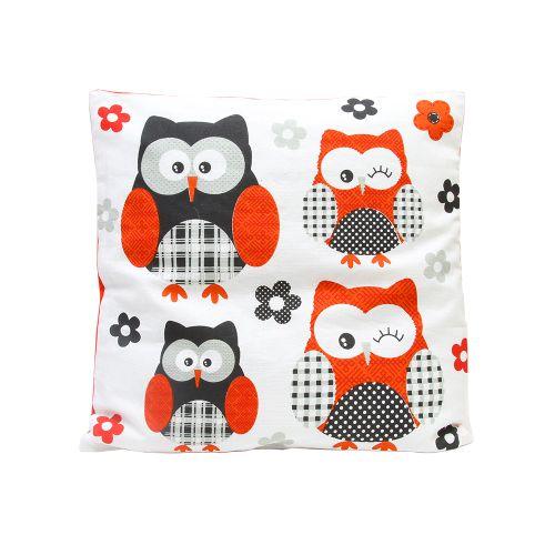 Perna Owly Din Bumbac 45x45 Cm