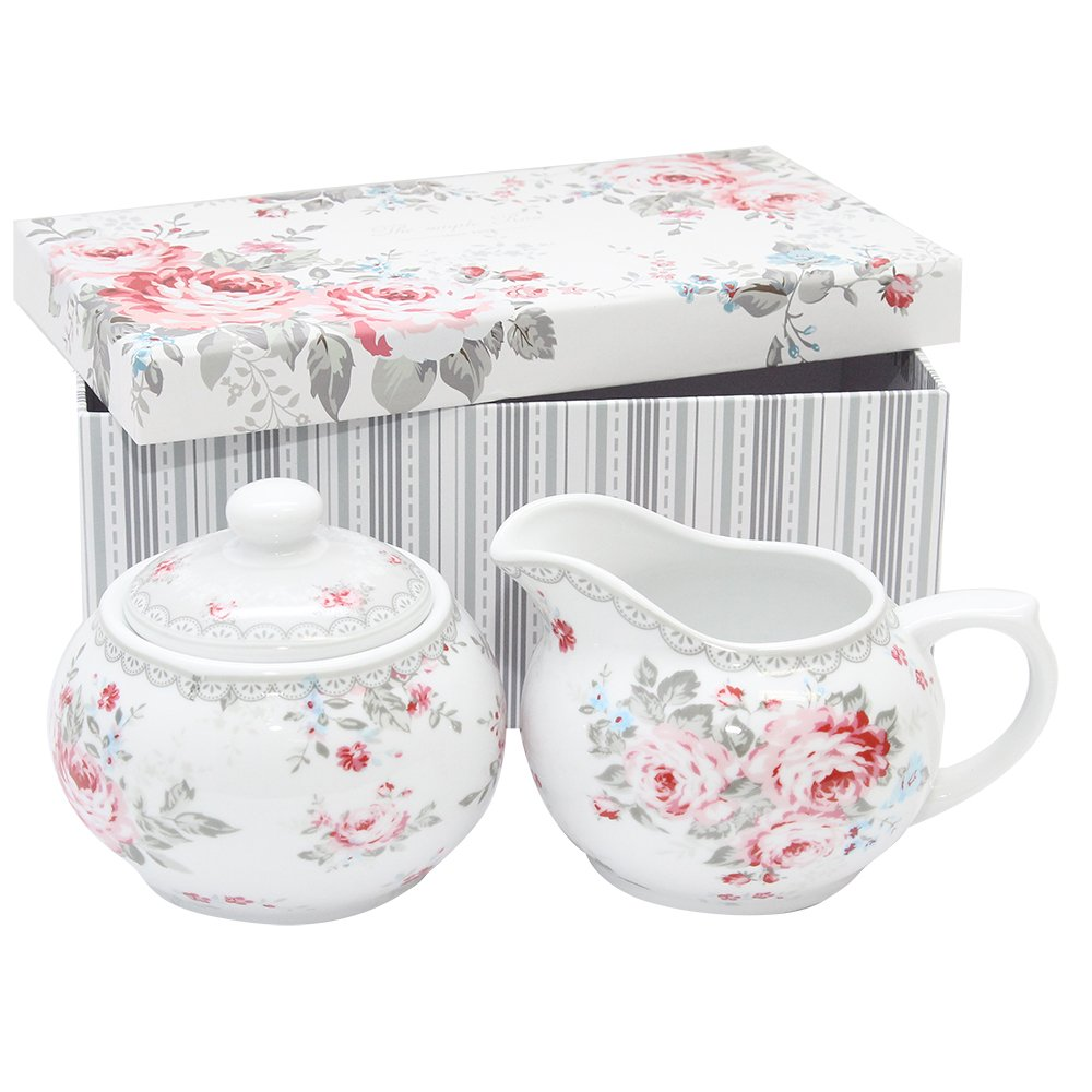 Recipient Zahar Si Lapte Din Ceramica 21x11x10 Cm