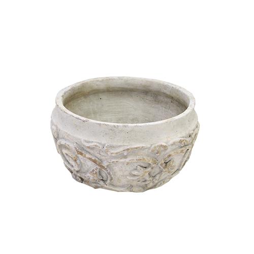 Recipient Basso Din Ceramica Gri 21x11 Cm