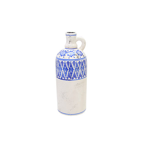 Recipient Decorativ Oriental Blue Din Ceramica 10x