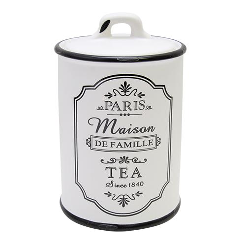 Recipient Pentru Ceai Paris Din Ceramica Alba 17 C