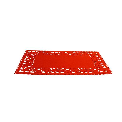 Runner Christmas Red 45x30 Cm