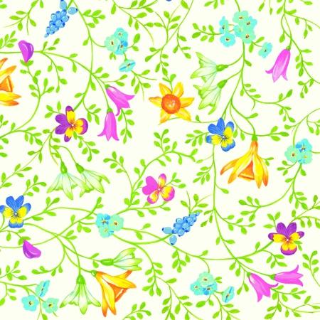 Servetele Spring Pentru Cocktail Cu Model Floral 25x25 Cm