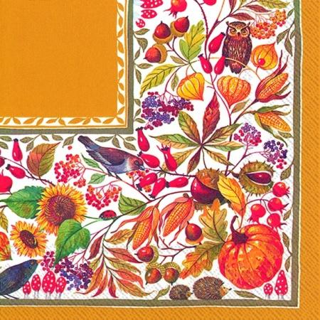 Servetele Autumn 33x33 Cm