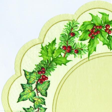 Servetele Christmas Bow 34 Cm
