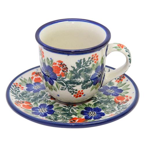 Set Ceasca Si Farfurie Polish Special Din Ceramica