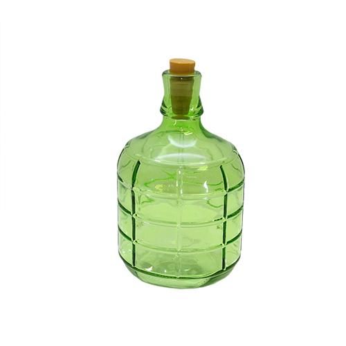 Sticla Deco Green 11x20 Cm