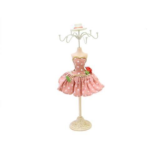 Suport Pentru Bijuterii Lady Pink 12x6x28 Cm
