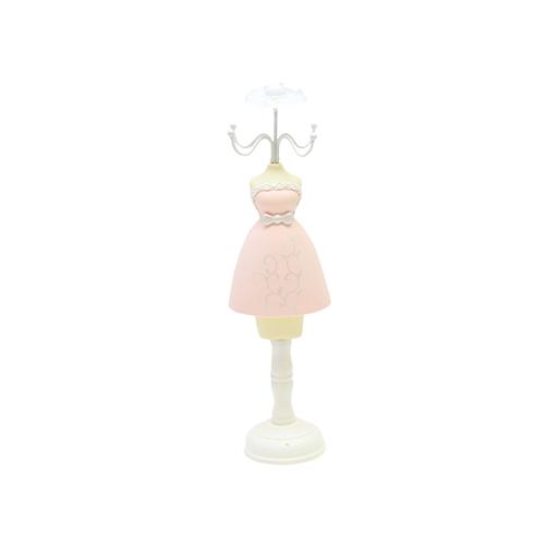 Suport Pentru Bijuterii Pink Dress 9x8x32 Cm