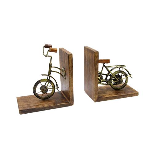 Suport Pentru Carti Vintage Bike 20x12x23 Cm
