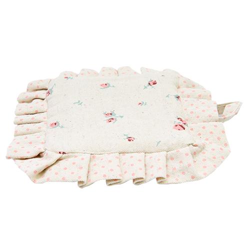 Suport Textil Rose Din Bumbac Bej 21x19 Cm