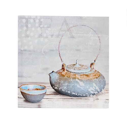 Tablou Gray Tea 40x40 Cm