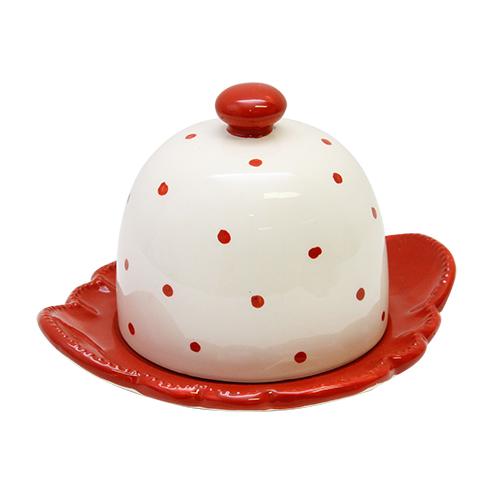 Untiera Melis Din Ceramica Rosie 16x14x12 Cm