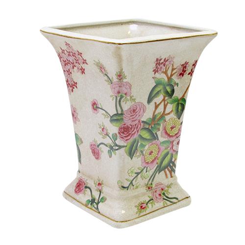 Vaza Delicate Flowers Din Ceramica 19x18x26 Cm