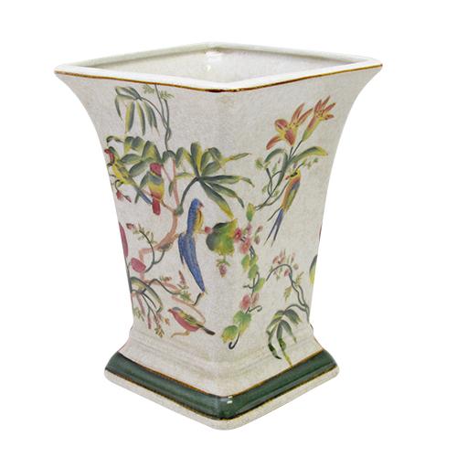 Vaza Tropical Din Ceramica 18.5x26 Cm