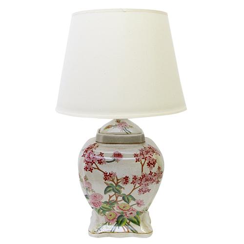 Picior De Veioza Molly Flower Din Ceramica 22x22x40 Cm