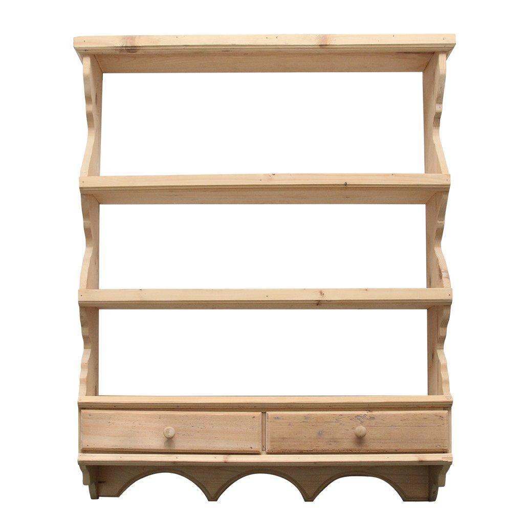 Blidar Cassa din lemn natur 83x20x105 cm chicville 2021