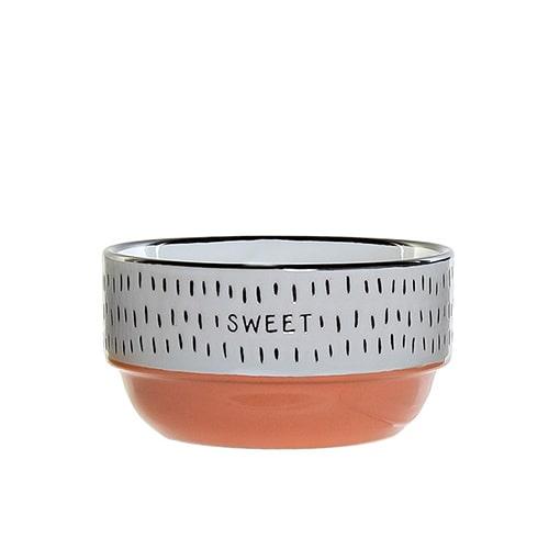 Bol Colors Sweet din ceramica portocalie 12 cm chicville 2021