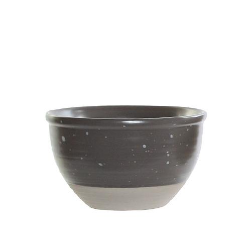 Bol Daily din ceramica gri 13 cm chicville 2021