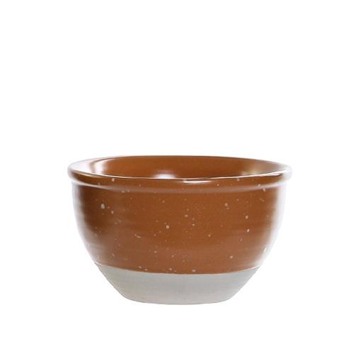 Bol Daily din ceramica portocalie 13 cm chicville 2021